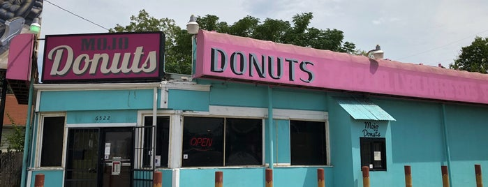 MOJO Donuts is one of Austin! ⚡️.