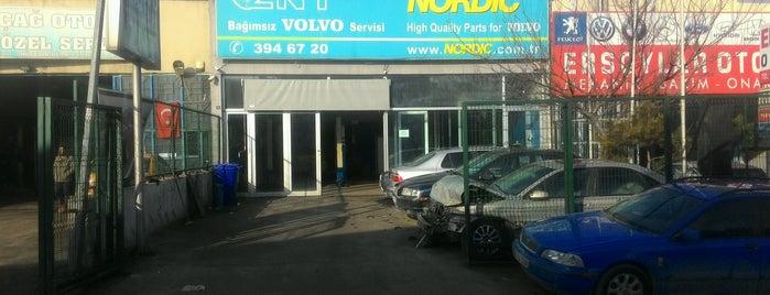 Znt Otomotiv NORDIC Volvo Özel Servis is one of Tempat yang Disukai Fatih.