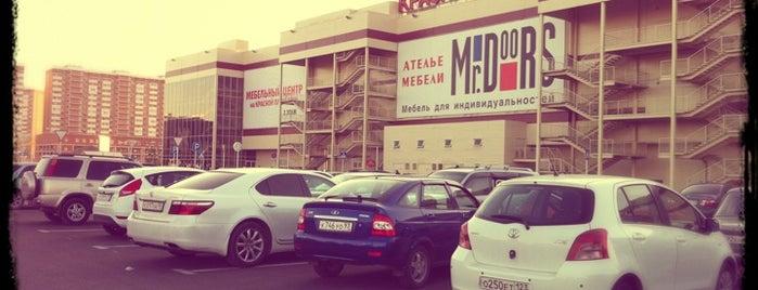 Парковка ТРЦ «Красная площадь» is one of สถานที่ที่ Георгий ถูกใจ.