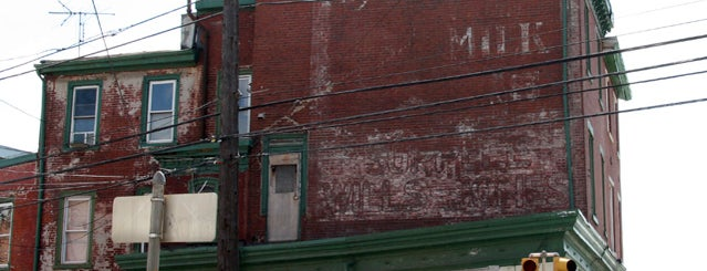 Supplee-Wills-Jones Milk Ghost Sign is one of Ghost Signs and Faded Ads.