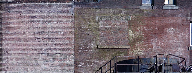 Esslinger's Brewery Ghost Sign is one of Ghost Signs and Faded Ads.