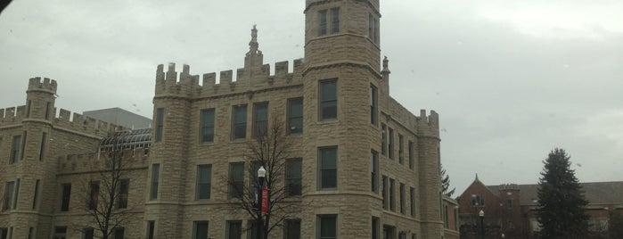 Northern Illinois University is one of Locais salvos de tazm.