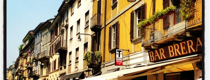 Brera is one of Milan - in the day.