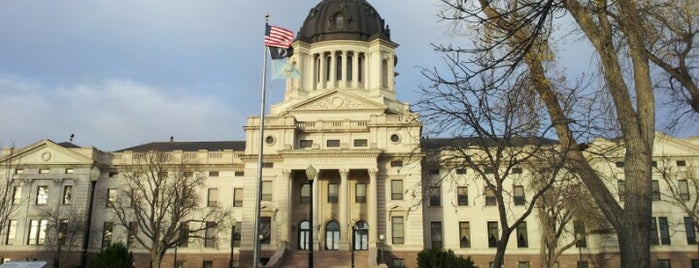 South Dakota Capitol Building is one of The Crowe Footsteps.
