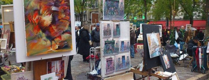 Place du Tertre is one of Paris.