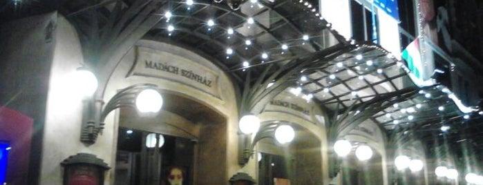Madách Színház is one of Budapest.
