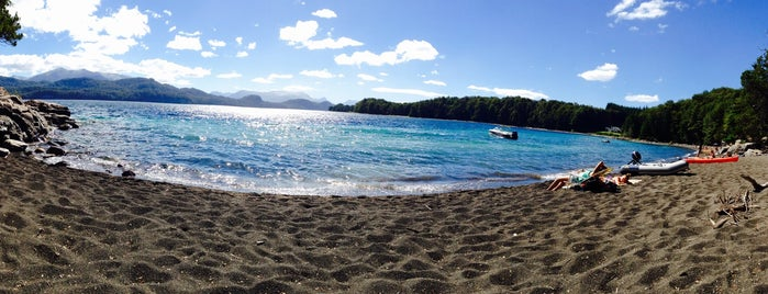 Playa Escondida is one of Bariloche.