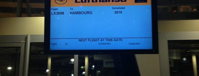 Gate D27 is one of Geneva (GVA) airport venues.