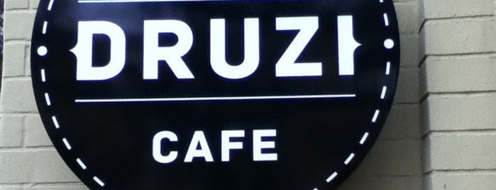 DRUZI cafe & bar is one of Tempat yang Disukai Vitaliy.