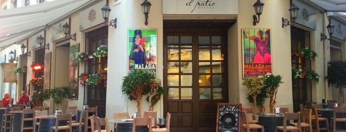 El Patio is one of Malaga, Spain.