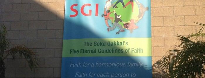 SGI - USA Buddhism Center is one of Orte, die Dorothy gefallen.