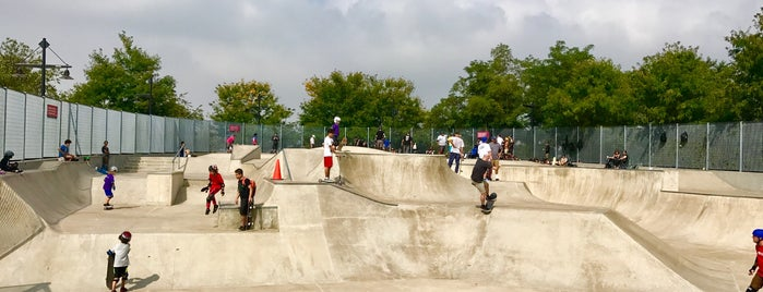Hudson River Skate Park is one of New York.