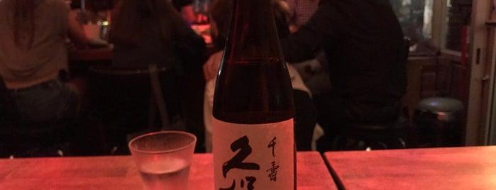 Sake Bar Satsko is one of NYC homies.