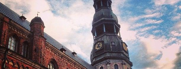Pēterbaznīca   Sv. Pētera ev. lut. baznīca is one of RIGA.