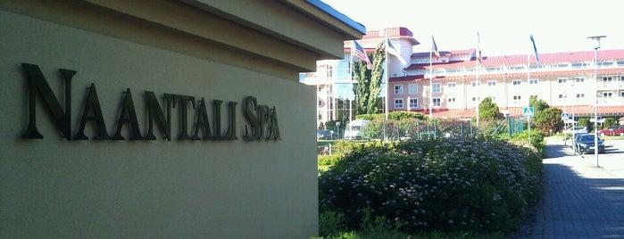 Naantalin kylpylä / Naantali Spa is one of Hotel History.