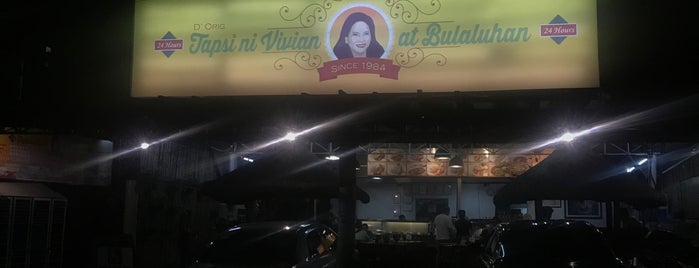Tapsi ni Vivian at Bulaluhan is one of Food junkie.