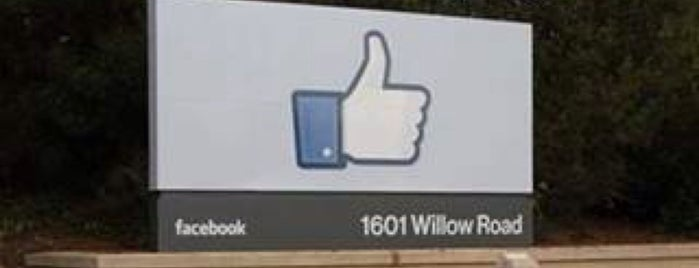 Facebook HQ is one of Silicon Valley.