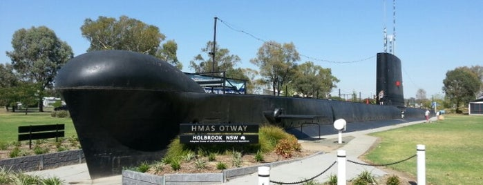 HMAS Otway is one of Syd - Melb.