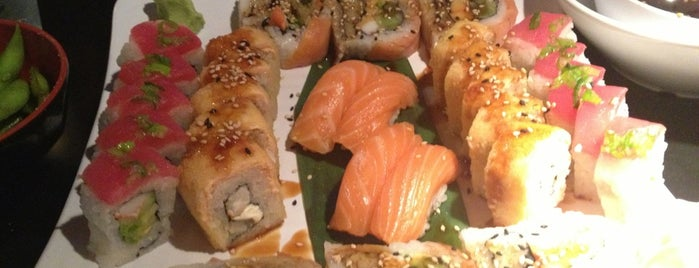 The Sushi Place - UTEP is one of el pasow.
