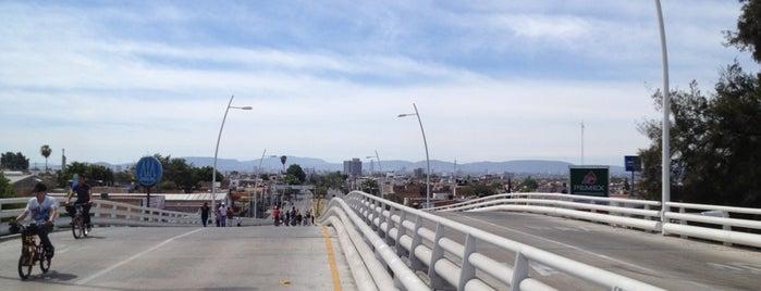 Puente Vial Juan Pablo II is one of สถานที่ที่ Cristina ถูกใจ.