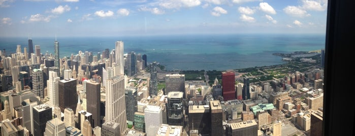 Willis Tower Terrace is one of Chicago.