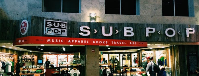 Sub Pop Store is one of Seattle.