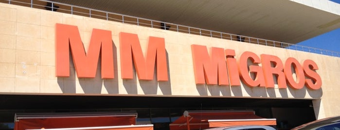 Migros is one of Lieux qui ont plu à Serpil.