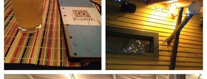 AGAVA Restaurant is one of สถานที่ที่ O. WENDELL ถูกใจ.