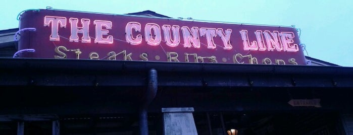 The County Line is one of To Do List.
