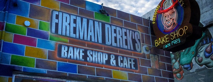 Fireman Derek's Bake Shop & Cafe is one of Miami.