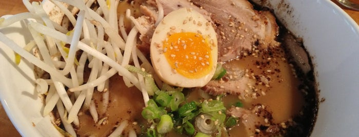 Sobo Ramen is one of Vegan/Vegetarian.