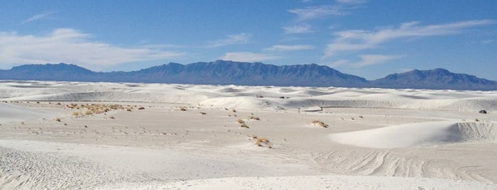 White Sands National Park is one of USA - Southwest.