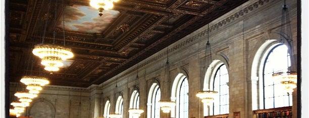 New York Public Library - Stephen A. Schwarzman Building is one of Marvel Comics NYC Landmarks.