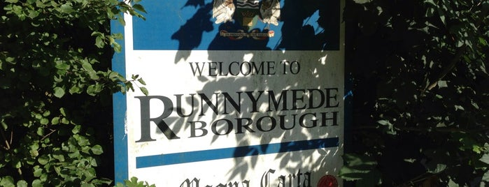 Runnymede is one of Orte, die Carl gefallen.