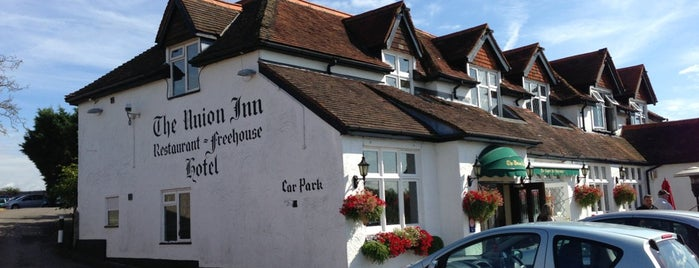 The Union Inn is one of สถานที่ที่ Carl ถูกใจ.