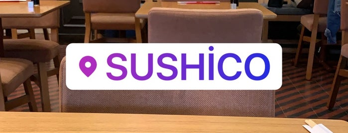 Sushico is one of สถานที่ที่ Nymphh ถูกใจ.