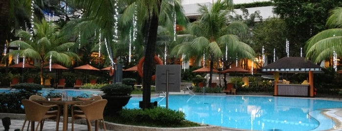 Pool Area Edsa Shangri-La is one of Manila.