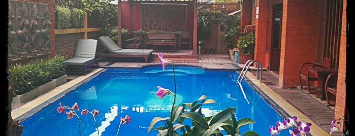 Lamphu Tree House Boutique Hotel is one of Thailand.