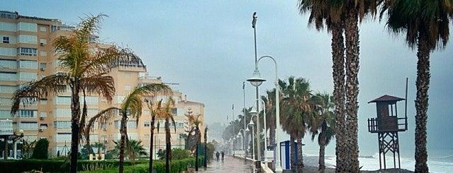 Paseo Marítimo de Mezquitilla is one of สถานที่ที่ Miguel ถูกใจ.