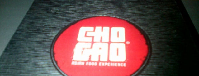 Cho Gao is one of Mis restos favoritos.