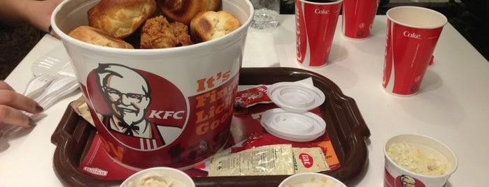 KFC is one of Duygum'la gittiğim yerler.