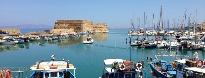 Heraklion is one of Crête.