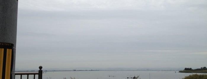 児島湖 is one of สถานที่ที่บันทึกไว้ของ Nari.
