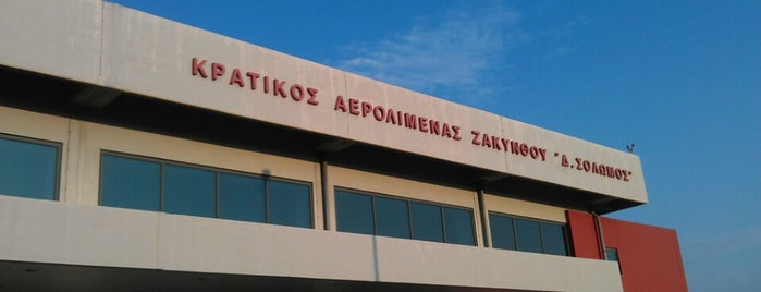 Zakynthos International Airport Dionysios Solomos (ZTH) is one of Airports I've been To.