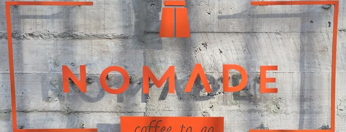 Nomade Café is one of Santiago Specialty Coffee Shops.