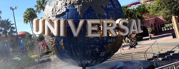 Universal Globe is one of Orlando.