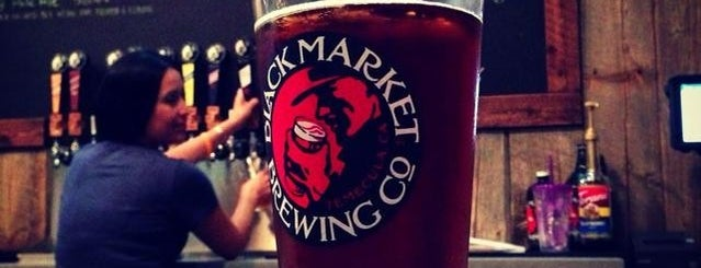 Black Market Brewing Co. is one of Brewery Crawl.