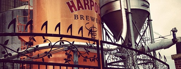 Harpoon Brewery is one of Divey Boston Bars.