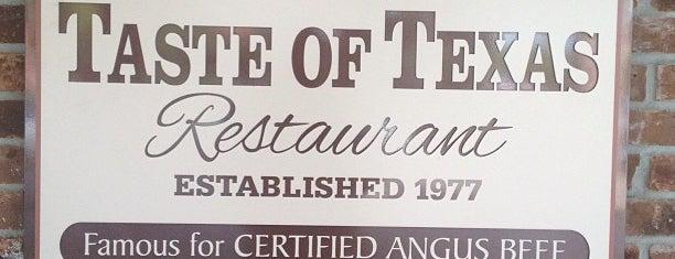 Taste of Texas is one of Houston, TX.