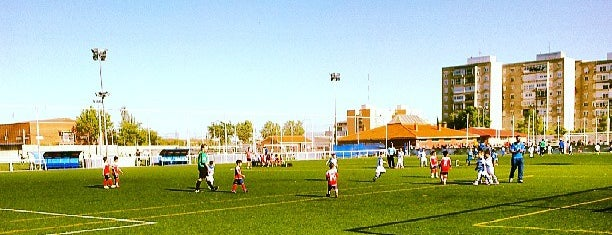 Campos de Fútbol El Naranjo is one of Angelさんのお気に入りスポット.
